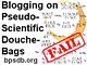 Blogging on Pseudo-Scientific Douche-Bags